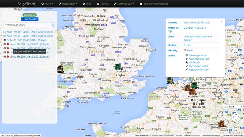 Overzichtelijke Real-Time Map